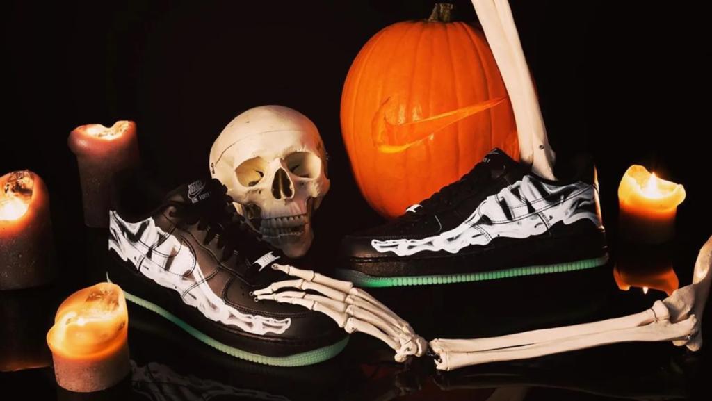 air max force 1 skeleton