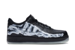 Air Force 1 Low Black Skeleton