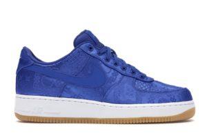 Air Force 1 Low Clot Blue Silk