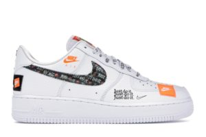 Air Force 1 Low Just Do It Pack White Black
