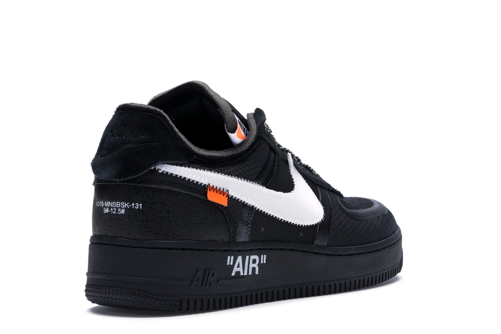 air force 1 low negras