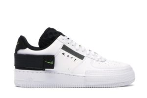 Air Force 1 Type White Black Volt