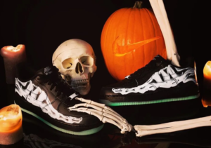 El nuevo 'Skeleton' Air Force 1 de Nike cae justo antes de Halloween