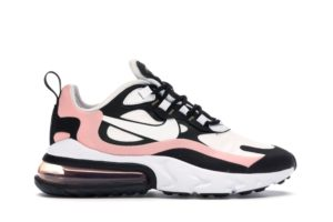 Air Max 270 React Black White Bleached Coral (W)