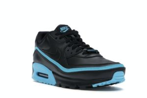 Nike Air Max 90 Undefeated Black Blue Fury