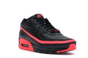 Nike Air Max 90 Undefeated Black Solar Red