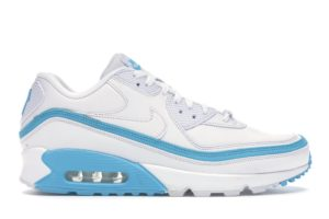 Nike Air Max 90 Undefeated White Blue Fury
