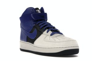 Air Force 1 High '07 Lv8 Pure Platinum/Deep Royal Blue
