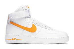 Air Force 1 High White University Gold