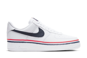 Air Force 1 Low Ribbon White Blue