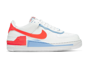 Air Force 1 Shadow Summit White Team Orange (W)