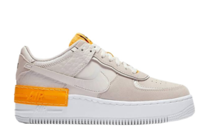 Air Force 1 Shadow Vast Grey Laser Orange (W)