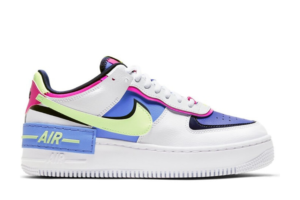 Air Force 1 Shadow White Sapphire Barely Volt (W)