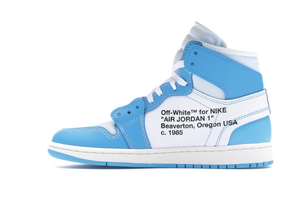 Para buscar refugio evaporación no se dio cuenta  Jordan 1 Retro High Off-White University Blue – Gamarra® Sitio Oficial